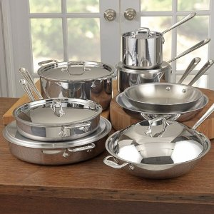 All clad review stainless steel cookware