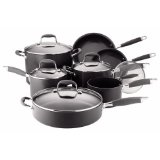 Anolon 12 pc Hard Anodized non stick cookware set