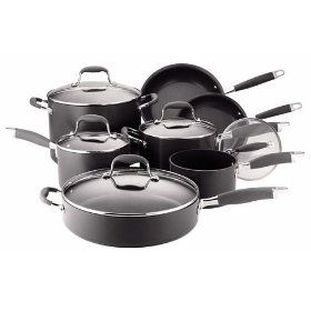 Anonlon Hard Anodized non stick 12pc cookware set