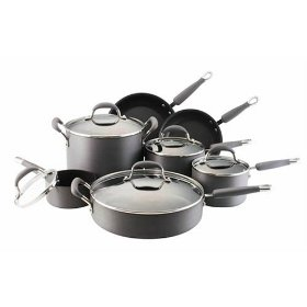 KitchenAid Gourmet Essentials Hard Anodized 12pc Cookware Set Review