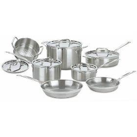 Cuisinart Multiclad Pro Stainless Steel 12pc Cookware Set