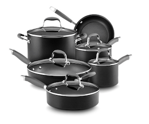 Anolon Advanced Hard Anodized 11pc Cookware Set
