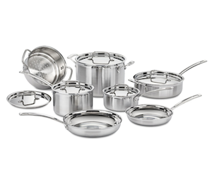Cuisinart MultiClad Pro 12pc Cookware Set Review